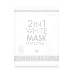 2IN1 White mask perfection 1Sheet/23ml